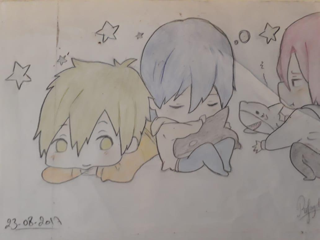 BabyFree!(Mako.Haru.Rin)
